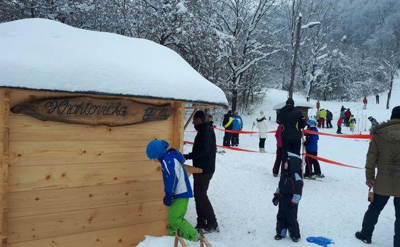 Skijanje na Hrastovačkoj gori - 2