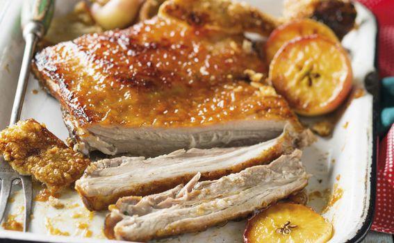 Preko carskog mesa možete staviti i glazuru na bazi citrusnih plodova