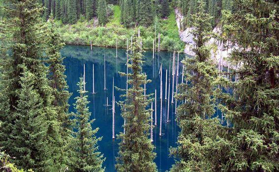 Jezero Kaindy - 4