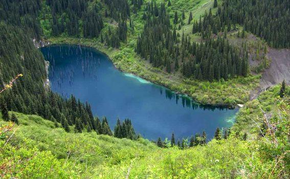 Jezero Kaindy - 5