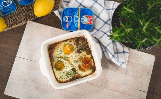 Fisherman's eggs - doručak ribara držat će vas sitima do večere