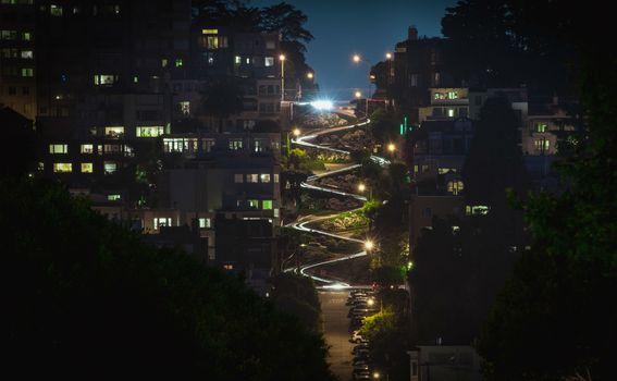 Ulica Lombard u San Francisku - 1