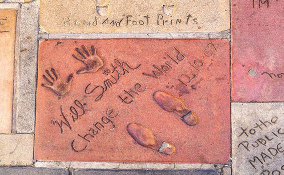 Otisci ruku i nogu slavnih u Los Angelesu