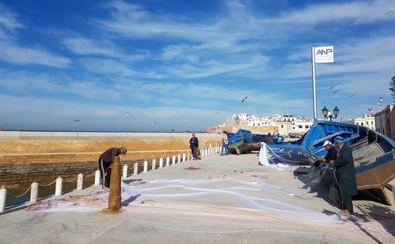 Ribari u Essaouiri