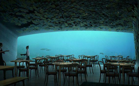 Podvodni restoran Under, Norveška - 5