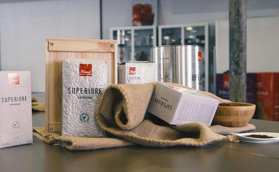 Franckova premium espresso kava Superiore ima Rainforest Alliance Certifikat