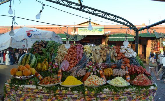Ulična hrana u Marakešu - 7