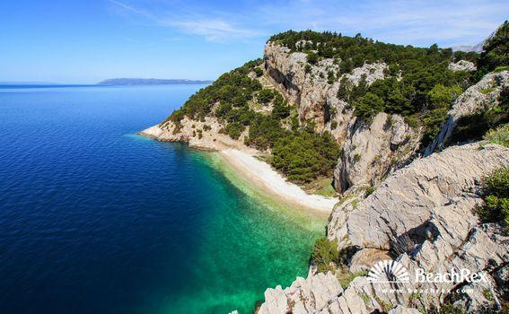 Plaža Nugal, Makarska