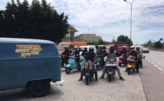 Vespa oldies Adriatic tour 2019. - 2