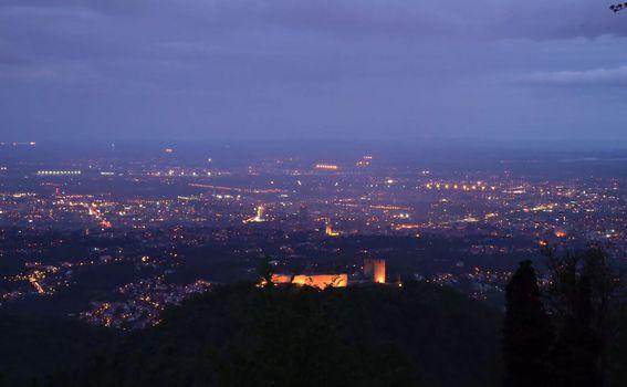 Pogled na Zagreb s Medvednice