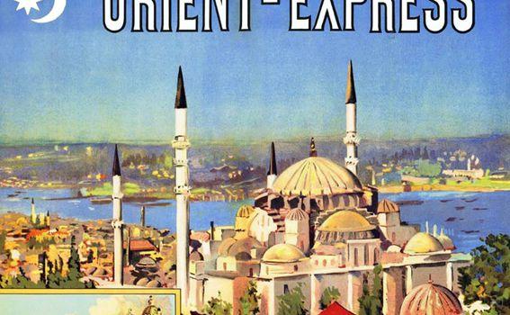 Plakat za vlak Orient Express