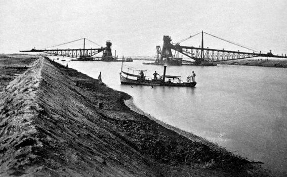 Arhivska fotografija Sueskog kanala