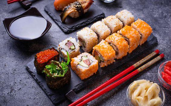 Sushi, ilustracija