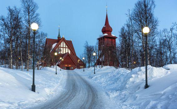 Kiruna, Švedska - 1
