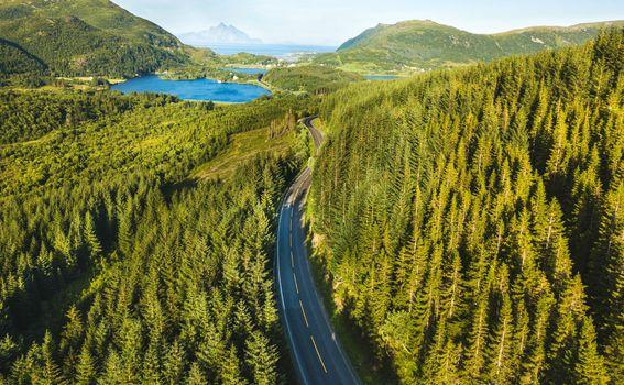 Prekrasna skandinavska priroda