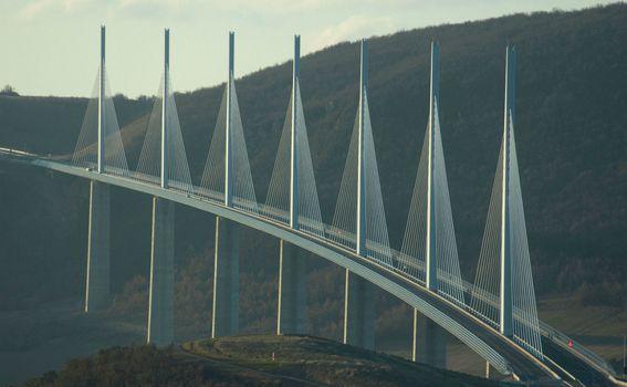Vijadukt Millau u Francuskoj - 2
