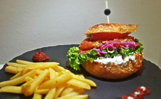 U ponudi se nalazi i veganski burgeri