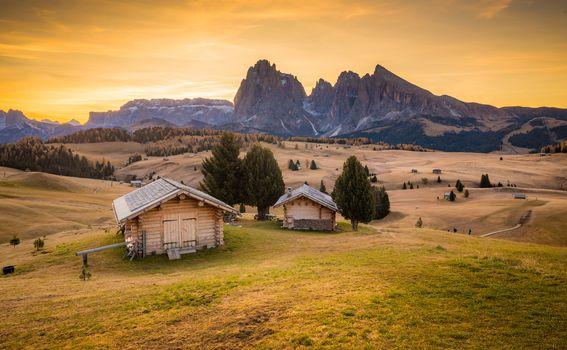 Alpe di Siusi Tirol Italija