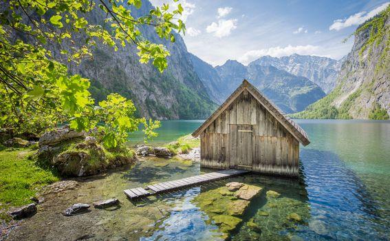 Kućica na Bodenskom jezeru, Bavarska