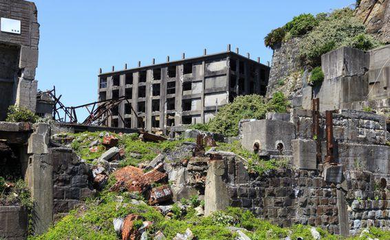 Otok Hashima, Japan