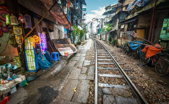 Željeznička ulica u Hanoiju, Vijetnam - 6