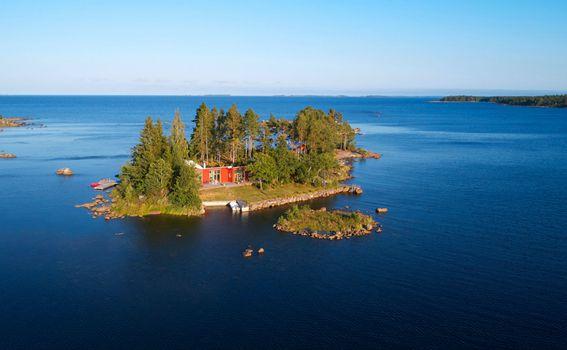 Privatni otok Gåsharsskäret u Švedskoj - 4