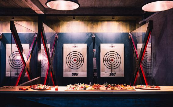 Axe Throwing Arena - 2