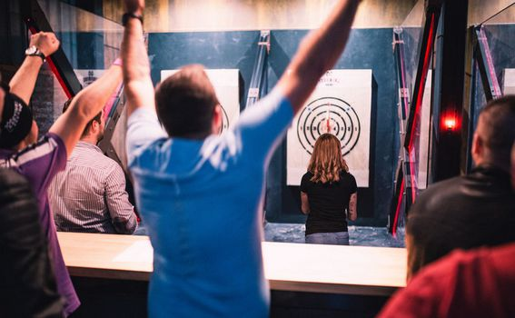 Axe Throwing Arena - 4