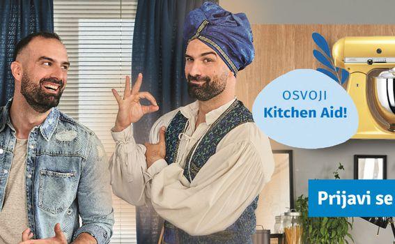 Otkrij svoj jednostavan recept sa samo četiri sastojka i žlicom Vegete Original i osvoji vrijednog pomoćnika u kuhinji