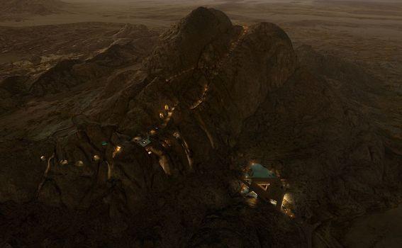 Desert Rock odmaralište, Saudijska Arabija - 1