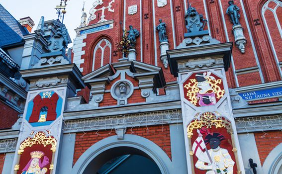Kuća crnoglavih, Riga - 1