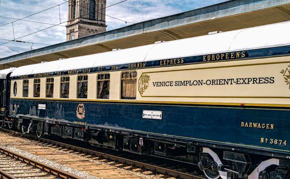 Vlak Venice Simplon-Orient Express