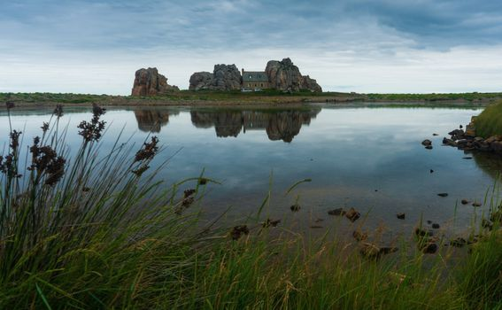 Castel Meur iz daljine