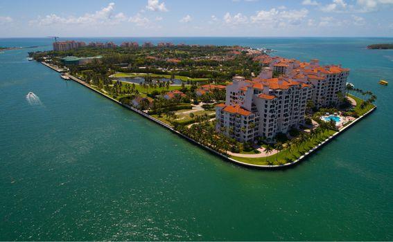 Otok Fisher, Miami, SAD