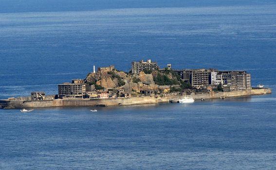 Otok Hashima (Foto: AFP) - 1