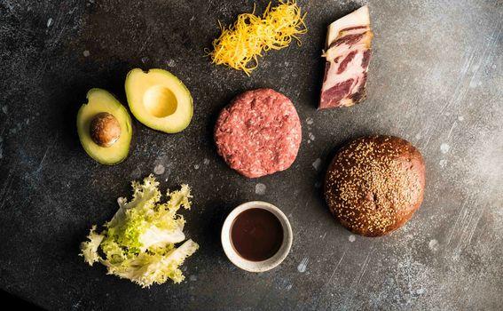 Sastojci za Supreme burger