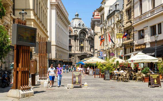 Ulice Bukurešta