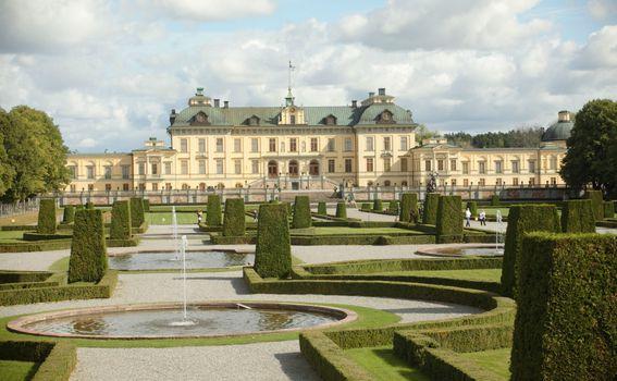 Palača Drottningholm, Švedska