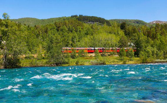 Vlak Oslo – Bergen - 1