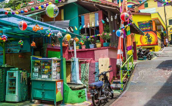 Dugino selo u Indoneziji, Kampung Pelangi - 1