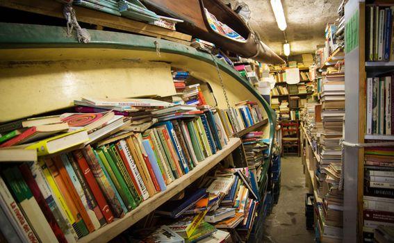 Libreria Acqua Alta, Venecija