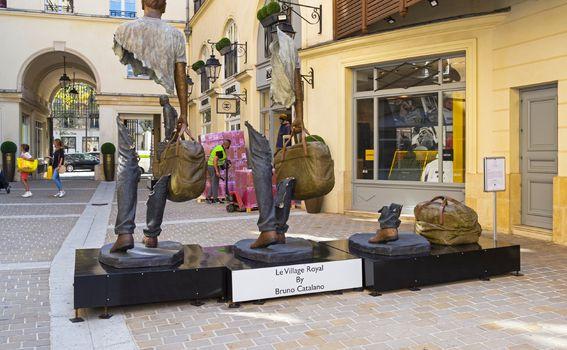 Skulpture u Parizu
