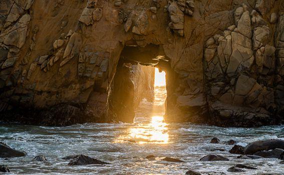 Pfeiffer plaža, Kalifornija - 2