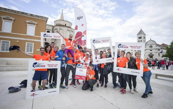 Željka Šaban Miličić Wings for Life World Run trči na Floridi