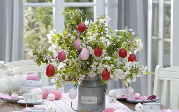 Ideje za ukrašavanje uskrsnog stola - 11