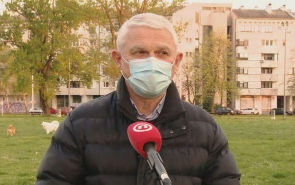 Ivan Puljiz, predstojnik Klinike za infektivne bolesti Dr. Fran Mihaljević
