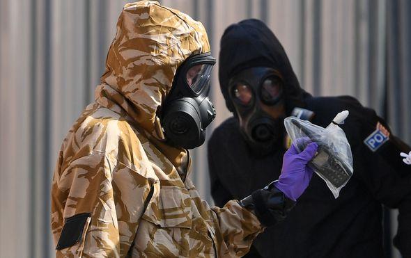 Napad nervnim otrovom (Foto: AFP)