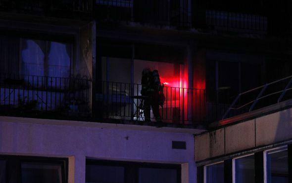 Požar u Parizu (Foto: AFP)