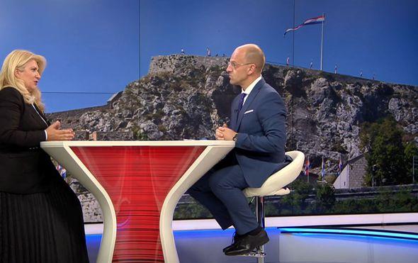 Vesna Škare Ožbolt, bivša ministrica pravosuđa, i Mislav Bago