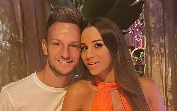 Ivan Rakitić i Raquel Mauri